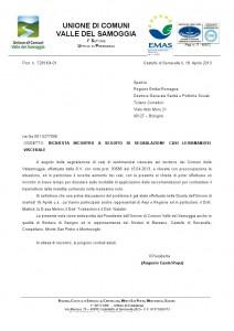 lettera Leishmaniosi